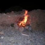 Feuer in Yesilirmak