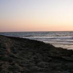 Sonnenuntergang: Wildes Campen in Zypern